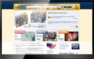 website globe business directory
